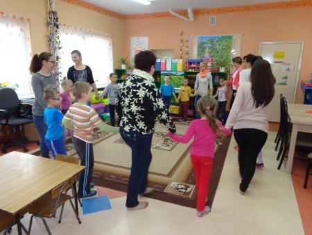 Zajęcia otwarte w grupie 6-latków