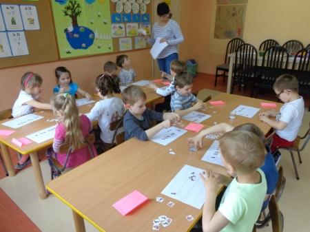Zajęcia otwarte dla rodziców- grupa Pracusie