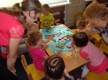 Zajęcia otwarte dla rodziców grupa Smerfusie