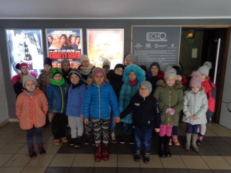 Przedszkolaczki wyjechały do kina
